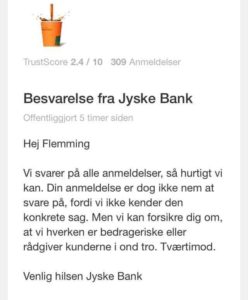 "Financial help for lawyer search In the case against Danish bank jyske bank for fraud. :-) Indsæt dit bidrag her. Insert your contribution here Reg. 5479 konto nr. 0004563376 IBAN-kontonummer Account DK0854790004563376 ---------------------- The Danish Bank, deceiving the customer with false loans, and by fraud raises the JYSKE BANK interest rates for a loan that does not exist. :-( Jyske Bank refuses dialogue with the customer, while jyske bank just continue with the fraud crime. FRAUD as Jyske Bank's management CEO Anders Dam from the customer is informed about may 25, 2016 ---------------------- In Danish See more at www.banknyt.dk Pictures of the little annex, the evidence of fraud: https://facebook.com/pg/JyskeBank.dk/photos/?tab=albums&ref=page_internal&mt_nav=1 ------------------------ Small family struggling against Jyske Bank. Jyske Bank has in the 9 years lied to the family about the fake loans, at the 4.328.000 dkkr. To be able to take 2.5 million dkkr in interest from the customer, for a loan the royal bank By not availablenot, but the bank lying about. Jyske bank refuses dialogue. When jyske bank only wants to answer the of the bank's clients who discovers that jyske bank is doing fraud and false in the court. For jyske bank, it is about the law Must jyske bank low fraud and a fake. It wants the Bank the court the words for. Therefore, seeking the family, the financial support to the attorney. ----------------------- The Danish bank. Jyske Bank Continue fraud by the customer on the 9'end of the year. Although jyske bank CEO Anders Dam. At least 2 years have had the knowledge that the bank is doing fraud. Jyske Bank raises the interest rates of the loans, which do not exist, but as jyske bank, dishonorable and dishonest continues lying in order to cheat the bank's customers. Jyske Bank refuses to stop the fraud of the bank's customer. :-) :-) Die Dänische bank. Betriebe Der JYSKE Bank Weiter Betrug durch den Kunden auf der 9'Ende des Jahres. Obwohl Betriebe der JYSKE bank-CEO Anders Dam Mindestens 2 Jahre haben die Kenntnis, dass die bank tun Betrug. Betriebe der JYSKE bank erhöht die Zinsen der Kredite, die nicht existieren, sondern als Betriebe der JYSKE bank, unehrenhaft und unehrlich ist, weiter zu Lügen, um zu betrügen die Kunden der bank. Betriebe der JYSKE Bank sich weigert zu stoppen, Betrug von Kunden der bank. :-) :-) את דנית הבנק. Jyske Bank המשך הונאה על ידי הלקוח ב-9'סוף השנה. למרות jyske מנכ "" ל הבנק אנדרס הסכר לפחות 2 שנים יש לו את הידע, כי הבנק עושה הונאה. jyske הבנק מעלה את הריבית של הלוואות אשר לא קיימים, אבל כפי jyske bank, מבישה ולא ישר ממשיכה לשקר על מנת לרמות לקוחות הבנק. Jyske הבנק מסרב להפסיק את ההונאה של לקוחות הבנק :-) :-) La banca danese. Jyske Bank Continua frode da parte del cliente il 9'fine dell'anno. Anche se jyske bank CEO Anders Diga Almeno 2 anni di avere avuto conoscenza che la banca sta facendo la frode. jyske bank alza i tassi di interesse dei prestiti che non esistono, ma come jyske bank, disonorevole e disonesti continua distesa per imbrogliare i clienti della banca. Jyske Bank si rifiuta di interrompere la frode dei clienti della banca. :-) :-) デンマークの銀行です。 Jyske銀行 続き 詐欺により、お客様の9'末ます。 がjyske銀行のCEO Andersダム 少なくとも2年間の知識、日本銀行では詐欺です。 jyske銀行の金利の貸出はありませんが、jyske銀行dishonorable、不正の続きの添い寝のためのチ日本銀行のお客様です。 Jyske銀行の拒否を停止する不正の日本銀行のお客様です。 :-) :-) Duński bank. Jyske Bank Dalej oszustwa ze strony klientów na 9'koniec roku. Chociaż dyrektor generalny jyske bank dam Anders Co najmniej 2 lata wiedza o tym, że bank zajmuje się oszustwem. Jyske bank podnosi oprocentowanie, które nie istnieją, ale jak джиске bank jest w porządku i nie fair nadal kłamie, aby oszukiwać klientów banku. Jyske Bank odmawia zaprzestania oszukiwanie klientów banku. :-) :-) Датский банк. Джиске Банк Далее мошенничества со стороны клиентов на 9'конец года. Хотя генеральный директор джиске банк дам Андерс Не менее 2 лет знание о том, что банк занимается мошенничеством. джиске банк поднимает процентные ставки по кредитам, которые не существуют, но как джиске банк, непорядочно и нечестно по-прежнему лжет, чтобы обманывать клиентов банка. Джиске Банк отказывается прекратить обман клиентов банка. :-) :-) El banco danés. Jyske Bank Continuar el fraude por el cliente en la 9'de fin de año. Aunque jyske bank CEO Anders Presa Al menos 2 años han tenido el conocimiento de que el banco está haciendo fraude. jyske bank eleva las tasas de interés de los préstamos que no existen, pero como jyske bank, deshonrosa y deshonesto sigue mintiendo con el fin de engañar a los clientes del banco. Jyske Bank se niega a detener el fraude de los clientes del banco. :-) :-) คนเดนมาร์กธนาคาร. Jyske ธนาคาร ทำต่อไป หลอกลโดยที่ลูกค้าที่ 9'สิ้นปี. ถึงแม้ว่า jyske ธนาคารของซีอีโอแอนเดอร์เด อย่างน้อย 2 ปีแล้วคนก็มีความรู้ที่ธนาคารกำลังทำอะไรเลยฐานต้มตุ๋นหลอกลวง jyske ธนาคารต่างหาที่สนใจการเต้นของเงินกู้นัซึ่งไม่มีตัวตนแต่ jyske ธนาคาร dishonorable และไม่ซื่อสัตย์ต่อไปโกหกเพื่อที่จะโกรธนาคารลูกค้าค่ะ Jyske ธนาคารปฏิเสธที่จะหยุดคนหลอกลของธนาคารลูกค้าค่ะ :-) :-) Danimarka Bankası. Jyske Bank Devam bu yıl 9' Müşteri tarafından dolandırıcılık;end. Ancak jyske bank CEO'SU Anders Dam En az 2 yıl banka dolandırıcılığı yaptığı bilgisi vardı. jyske bank bulunmayan kredilerin faiz oranlarını artırdı, ama jyske bankası olarak, onursuz ve sahtekar banka müşterileri aldatmak için yalan söylemeye devam ediyor. Jyske Bank müşterilerinin dolandırıcılık durdurmak için reddediyor. :-) :-) La banque danoise. Jyske Bank Continuer la fraude par le client sur le 9'à la fin de l'année. Bien que jyske bank chef de la direction Anders Barrage Au moins 2 ans ont eu la connaissance que la banque est en train de faire de la fraude. jyske bank soulève le taux d'intérêt des prêts qui n'existent pas, mais que jyske bank, déshonorante et malhonnête continue de mentir dans le but de tromper les clients de la banque. Jyske Bank refuse de cesser la fraude de la les clients de la banque. :-) :-) Den danske bank. Jyske Bank Fortætter svindel af kunde på 9'ende år. Selv om jyske bank CEO Anders Dam I mindst 2 år har haft viden om at banken laver bedrageri. jyske bank hæver renter af lån der ikke findes, men som jyske bank, uhæderligt og uærligt fortsætter, lyver om for at snyde bankens kunder. Jyske Bank nægter at stoppe svindlen af bankens kunder. :-) :-) Så hvad kan vi gøre, udover at blive røvet af jyske bank med falsk lån. :-) :-) Se mere på www.banknyt.dk Lille familie kæmper mod Jyske Bank. :-) :-) Jyske Bank har i 9 år løjet over for familien om falsk lån, på 4.328.000 dkkr. For at kunne tage 2.5 milioner kroner i rente fra kunden, for et lån jyske bank ved ikke findes, men bevist lyver om. Jyske bank nægter dialog. Da jyske bank kun ønsker at svare de af bankens kunder som opdager at jyske bank laver svig og falsk i retten. For jyske bank handler det om jura Må jyske bank lave svig og falsk. Det ønsker den store Danske Bank rettens ord for. Derfor søger familien øknomisk støtte til advokat. Derfor søger familien øknomisk støtte til advokat. :-) Støtte søges til sag, mod stor Dansk Bank som lave svig mod kunder. Indsæt dit bidrag her. Reg. 5479 konto nr. 0004563376 IBAN-kontonummer DK0854790004563376 swift NYKBDKKK Støtten buges til advokat regninger Hjælp til at stoppe svig i jyske bank mod bankens kunder."