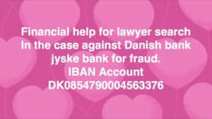Want ATP pension to support jyske bank with the fraud of customers at jyske bank Talking about COUNTERFEITING, EXPLOITATION, FRAUD, breach of MANDATE. violating all the rules and good practice, to be able to yield, fraud < < to deceive the customer at jyske bank And allows ATP PFA, PENSAM and other shareholders jyske bank in now 9 years Has deceived his customer in jyske bank using fake loans, in order to be able to manipulate the client, who was ill after a stroke The customer who did not die and or should have ATP paid to his wife Is småsur over the management of the jyske bank refuses to answer, after the customer // Ønsker ATP pension at støtte jyske bank med bedrageri af kunder i jyske bank Taler om FORFALSKNING, UDNYTTELSE, BEDRAGERI, MANDATSVIG. overtræder alle regler og god skik, for at kunne udbytte, svig foretning til at bedrage kunde i jyske bank Og tillader ATP PFA PENSAM og andre aktionærer at jyske bank i nu 9 år Har bedraget sin kunde i jyske bank ved hjælp af falsk lån, for at kunne manipulere kunden, som var syg efter en hjerneblødning Kunden som ikke døde og eller skulle have ATP udbetalt til sin hustru Er småsur over ledelsen i jyske bank nægter at svare, efter kunden i 2016 oplyste jyske bank om problemet omkring falsk Nu er der kommet meget mere frem Og jyske bank er fortsat iskolde, og fortsætter bedrager med der af jyske bank velplanlagte svig //