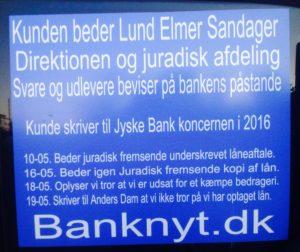 En sag om bedrageri Anders Dam og den øvrige bestyrelse ønsker en dom for