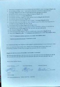 Side 2 af 2. Fremlæg disse bilag for retten