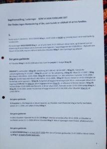 Side 4-40 Som anmodet brugt til processkrift i mod jyske bank for bedrageri / svig